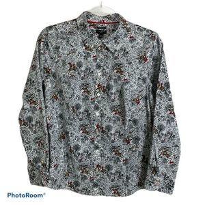 Talbots Wrinkle Resistant Long Sleeve Shirt